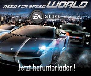 """Kostenlos! NEED for SPEED World"""" (Onlinegame) herunterladen"""