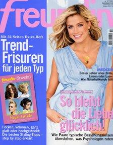 Zeitschrift Freundin Halbjahresabo nur 1,20€