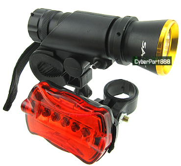Biker LED Beleuchtungs Set (270 Lumen!) nur 6,33 € inkl. Versand