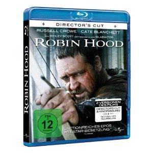 Robin Hood [Blu ray] Director`s Cut nur 7,20€ inkl. Versand