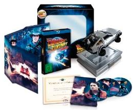Zurück in die Zukunft – 25th Anniversary Trilogie (inkl. Miniatur DeLorean) [Blu ray] nur noch 50€