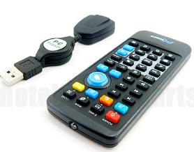 Gadget: PC oder Notebook Fernbedienung + USB IR Controller nur 3,60€ inkl. Versandkosten