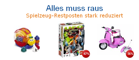 Spielzeug Ausverkauf bei Amazon!
