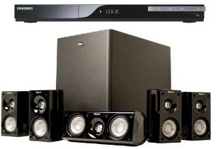 Klipsch HD Theater 500 5.1 System kaufen & Samsung 3D Blu Ray Player geschenkt dazu für 498€ (Vergleich 597€)