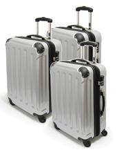 Günstiges 3 teiliges Polycarbonat (Hartschale) Kofferset für nur 89€ inkl. Versand