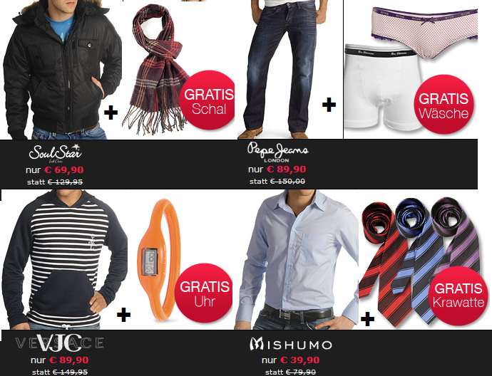 Dress for less GRATIS Zugaben + 10€ Gutscheincode