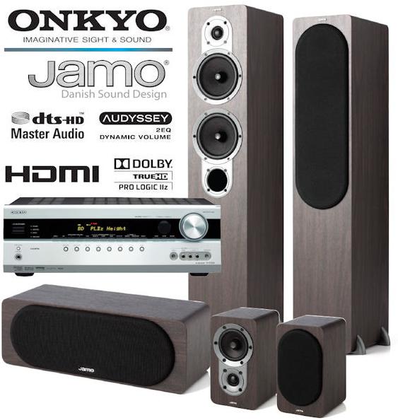 Onkyo TX SR508 7.1 Reciever + Jamo S426 HCS 3 Lautsprecher für 409€ inkl. Versand (187€ Ersparnis!)