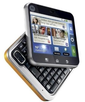 Motorola Flipout MB511 (3MP, Android 2.1, UMTS) nur 99€