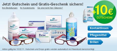 Für 15€ bei Lensbest kostenlos shoppen und nur Versand bezahlen!