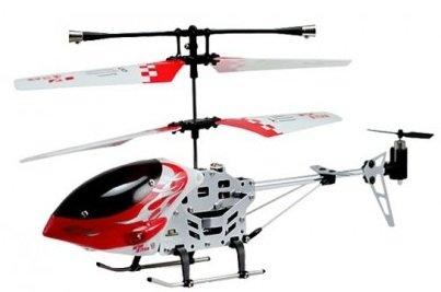 Gadget! RC Indoor Helikopter (3 Kanal, Alu) für 12,95€ inkl. Versand