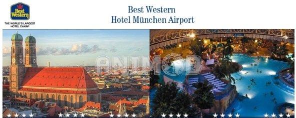 Schnäppchen! 3tägige Erding Reise (München) für 2 Personen im 4**** Hotel Best Western nur 88€