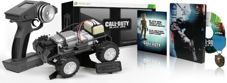Call of Duty: Black Ops – Prestige Edition + fernsteuerbares Fahrzeug (inkl. Cam) nur 65€