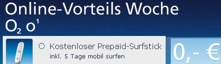 Kostenlosen UMTS Surfstick ergattern. (zzgl.3,95€ Versand)