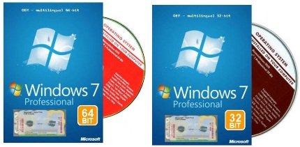 WIN 7 Professional 64Bit oder WIN 7 32Bit zum Schnäppchenpeis!