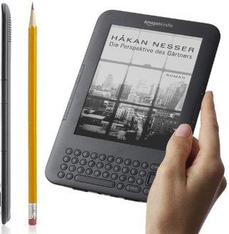 Kindle in Deutschland! (+ WiFi oder weltweit kostenlosen UMTS) ab 139€