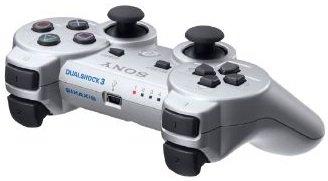Schnäppchen! Sony PS3 Dualshock Wireless Controller (Silber) ab 22,95€ zzgl. Versand