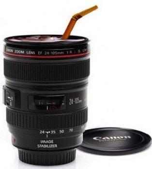 [Ebay] Gadget! Kaffeebecher im Objektivdesign (24 105mm) für 4,85€ inkl. Versand