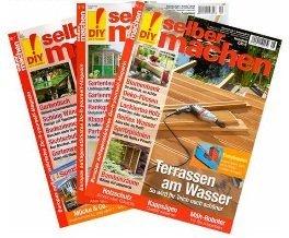"""Die Zeitschrift """"selbermachen"""" für 14 Monate für 42€ + 40€ Gutschein"""