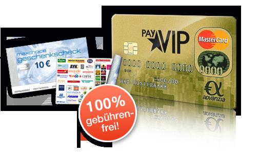 Vollkommen Kostenlose Mastercard Gold + 10€ MaxChoice Gutschein geschenkt dazu!