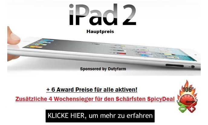 Mein Deal Gewinnspiel Nr2 Hauptpreis Ipad2 Update