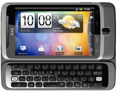 Wow! Smartphone: HTC Handy Desire Z inkl. Lieferung 259€