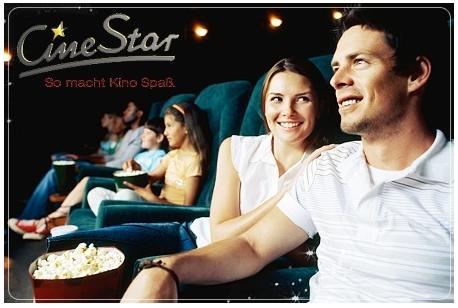 Cinestar Bundle! 4x Eintritt + 4x Popcorn zusammen nur 28€
