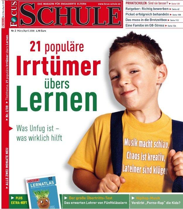 FOCUS Schule Jahresabo für 29,70€ + 20€ Gutschein
