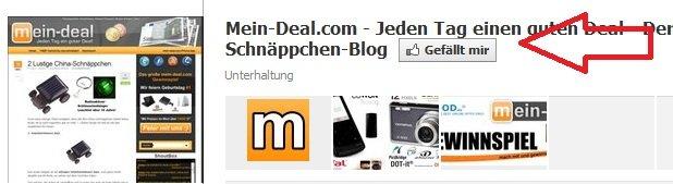 Großes Mein Deal – Facebook Gewinnspiel (Hauptpreis iPad2)