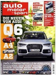 """2 Jahresabo """"auto, motor & sport"""" effektiv für 179€ + 120€ Gutschein"""