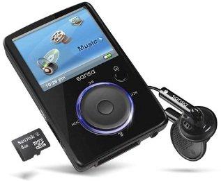 MP3 Player 4GB SanDisk Sansa Fuze nur 29,95€ inkl. Versand