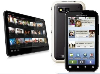 KNALLER! Bundle Schnäppchen! Motorola Defy + Motorola Xoom Wi Fi Tablet PC schon ab 25€/Monat