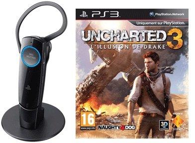 *UPDATE!* Uncharted 3 für 59€ bestellen und PS3 Headset geschenkt dazu (Wert 41€)