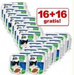Katzenfutter zum Schnäppchenkurs! 32 x 100 g Megapack Felix ab 7,74€ inkl. Versand