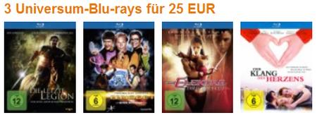 Aktuelle Blu ray Schnäppchen