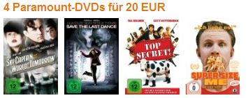 Amazon! Weitere DVD und Blu Ray Angebote der Woche.