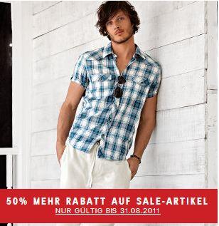 Großer H&M Sale! 50% Rabatt auf bereits reduzierte Artikel!