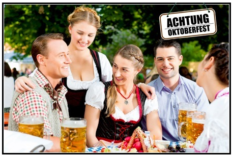 Zum Oktoberfest mit dem Partyzug für 2 Personen hin & zurück nur 79€