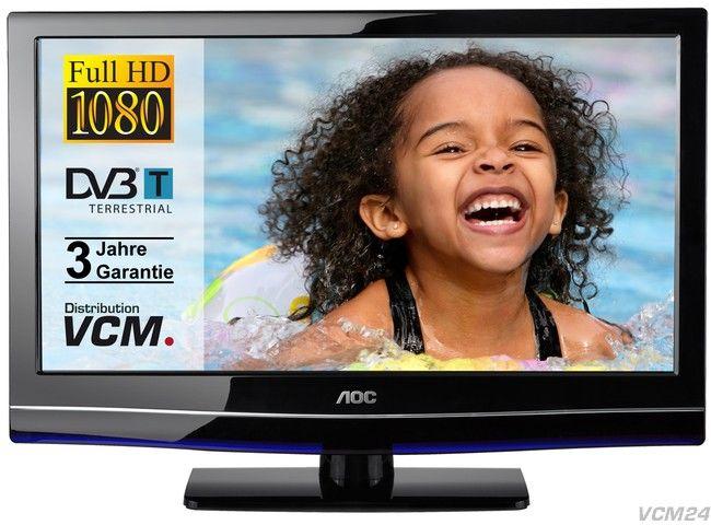 AOC LED TV 24 Zoll (2x HDMI, Full HD & DVB T) nur 159€ inkl. Versand