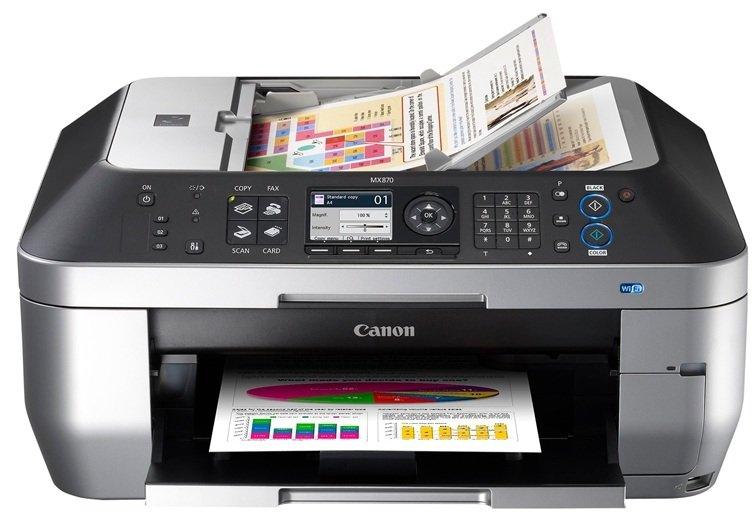 eBay WOW! Canon PIXMA MX870 all in one (Scannen, Drucken, Kopieren, Faxen) mit WLAN nur 119€ (Vergleich 140€)