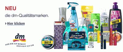dm Marken Produkte 10% billiger (als im Laden) + keine Versandkosten