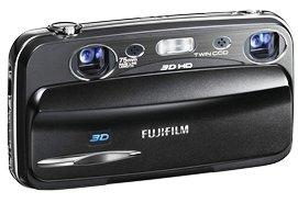 Wow! Digicam: REAL 3D Fuji FinePix mit 10 MP in schwarz. Nur Heute inkl. Versand 169,00€