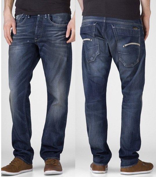 G STAR Structor Straight Spike Jeans nur 39,99€ inkl. Versand