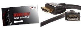 *HAMMER!* AmazonBasics HDMI Kabel (2,0 Meter) + Lovefilm 3 Monate Flat zusammen für nur 4,99€ (Statt 42€)