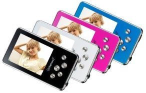 Amazon! Intenso: Mini Video  und MP3 Player mit 8 GB und 5,1 cm Display, mit MicroSD Kartenslot inkl. Versand 36,99€