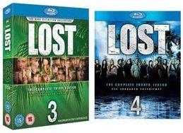 Lost Staffel 3 & 4 [Blu ray] für je 16,49€ inkl. Versand