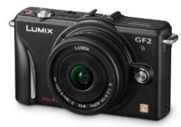 Abgefahren! Panasonic Lumix GF2 + 5 Jahren Garantie + 30 Pfund Amazon UK Gutschein + Adobe Lightroom 3 nur 334,50€