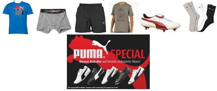 Puma Sale + Versandkostenfrei + div. Gutscheincodes (günstige Sneaker)