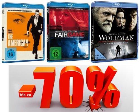 SSV bei Buch.de! Blu rays ab 5,95€ + 5€ Gutscheincode