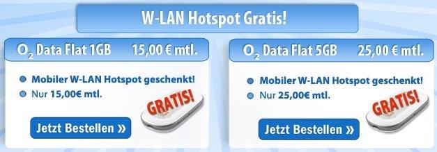 HAMMER! Günstige UMTS Flats ab 7,50€/Monat (GRATIS UMTS Stick + nur 6 Monate Laufzeit)