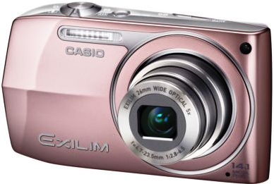 ebay Wow! Digicam: 14,1 MP Casio EXILIM ZOOM in rosa, inkl. Versand 99,00€